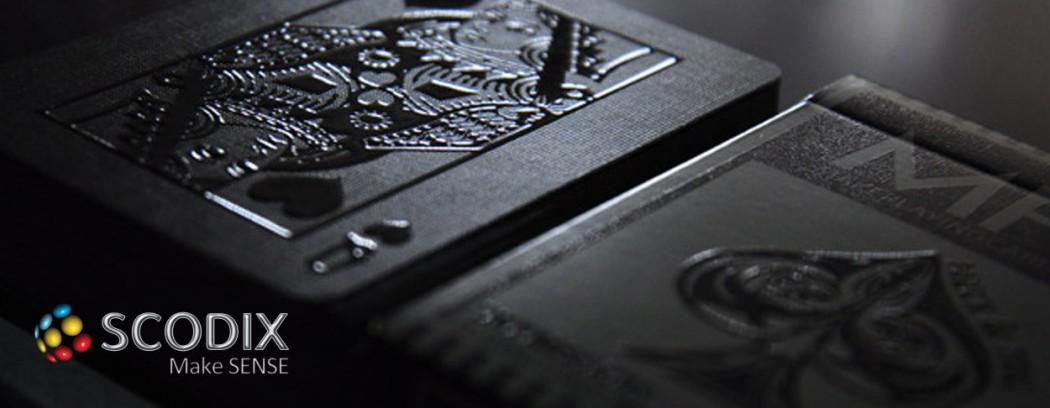 Tecnologia di stampa Scodix, il futuro a portata di mano.